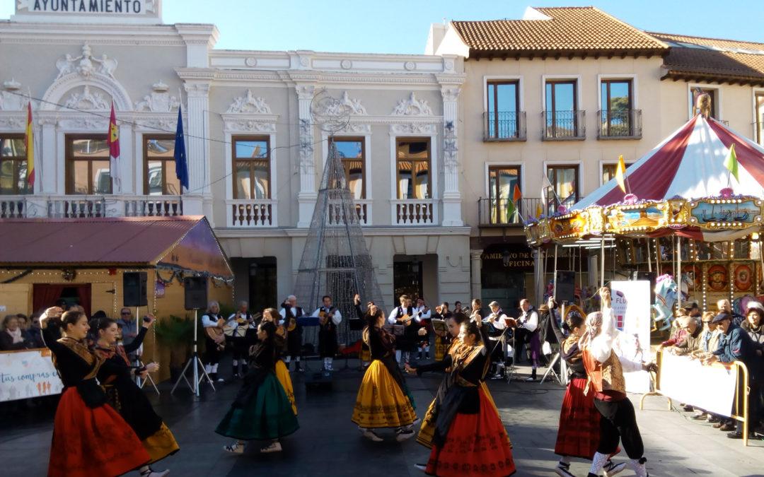 Actuación de los Bailes Regionales «Palacio de la Cotilla» #NavidadesMiguelFluiters 2019