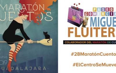 Campaña de #MiguelFluiters para el #28MaratónCuentos
