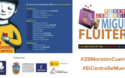 Campaña de #MiguelFluiters para el #29MaratónCuentos
