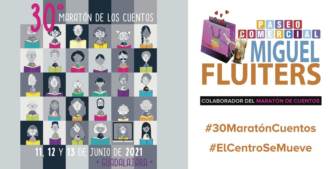 Campaña de #MiguelFluiters para el #30MaratónCuentos